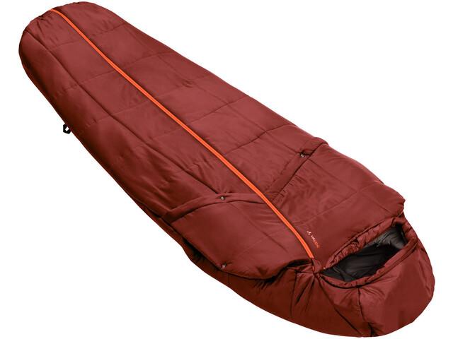VAUDE Gamplüt 800 Syn Sleeping Bag cherrywood